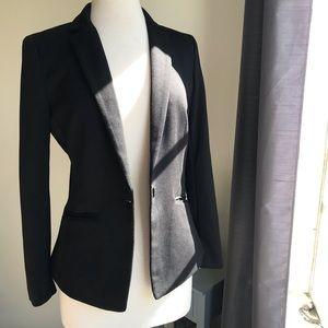 H&M black blazer.  Size 10